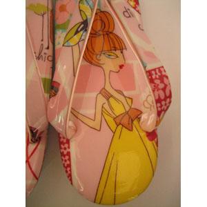 オリジナル草履 小判型 ピンクレディ