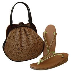 草履 和装バッグ セット