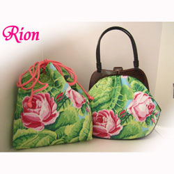 オーダーバッグ 和装バッグ 薔薇
