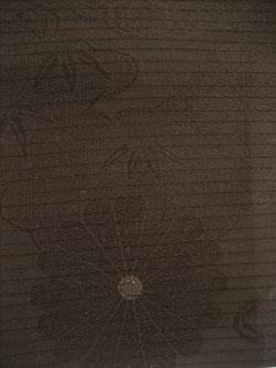 菊 黒い帯 リメイク材料