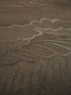 雲 リメイク材料 黒 帯