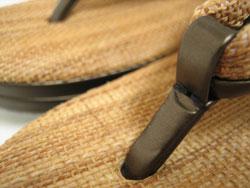 オリジナル草履 革